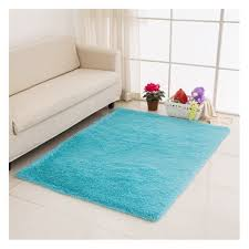 home rugs living bedroom plush rugs light blue 50 80cm x2y8