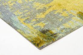 monet stunning olive green rug 160x110cm