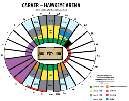 Kinnick Stadium Seating Chart Rows 2019