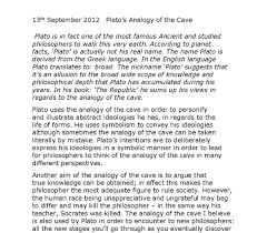 how to write a good allegory of the cave essay the use of dialogue in the allegory gives more meaning to the perception of the learner it is also an introduction into his metaphysical and ethical system