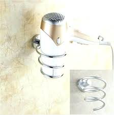 hair styling tool holder hair tool storage best hair dryer holder ideas on storage throughout wall
