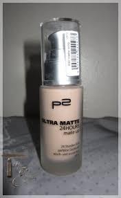 p2 ultra matte 24hours makeup 4 95 farbe 03 matte ivory