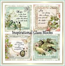Inspirational Collages Cottage Chic Inspirational Collages For Tiles Quilts Set Of 4 U Print