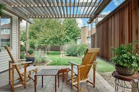 Fence Pergola Designs Asian Landscape In Ames Iowa With Customized Decks And Patios