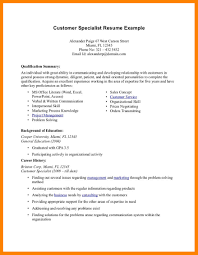 Resume Qualifications Examples Resume Qualifications Section