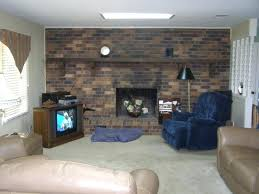 fireplace brick paint painting fireplace brick painted white brick fireplace with tv
