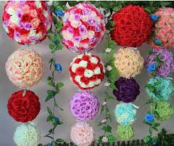 Hanging Flower Ball Decorations