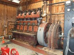 Electric Generator Picture of Connecticut Antique Machinery Kent