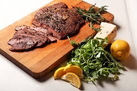 peppery flank steak liata in the