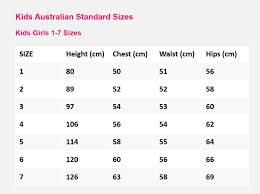 Standard Australian Sizes Stylishdiscoveries Com Au