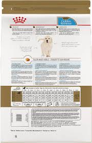 Puppy Feeding Chart Golden Retriever Royal Canin Golden Retriever Puppy Dry Dog Food 30 Lb Bag