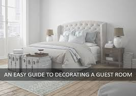 how to decorate a guest bedroom ideas