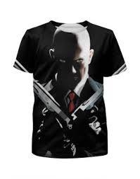 """приобрести детские футболки с авторскими принтами """"<b>hitman</b>"""""""
