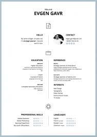 The Best Modern Resume Templates For 2016 Throughout 3 Column Resume