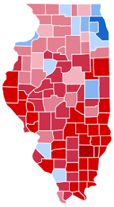 presidential elecion results united states presidential election in illinois 2016 wikipedia
