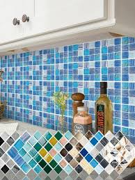15pcs kitchen oil proof bathroom mosaic