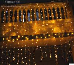 Fairy Lights Taobao 1 5m X 1 5m 144 Warm White Led Hanging Snowing Icicle Curtain Lamp Xmas Fairy String Lights Wedding Party Decor Us