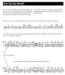 Inside The Big Band Drum Chart Methods