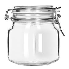 libbey 17209925 25 25 oz glass jar clamp lid large ope