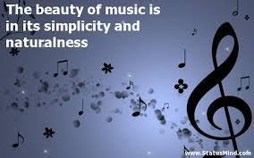 Beauty Of Music Quotes Best of The Beauty Of Music Is In Its Simplicity And StatusMind