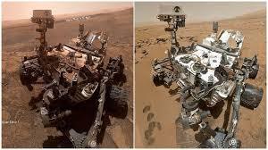 В NASA показали, как изменился марсоход Curiosity за 7 лет ...