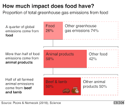 Cattle Feed Conversion Charts Plant Based Diet Can Fight Climate Change Un Bbc News