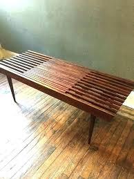wood slat bench plans