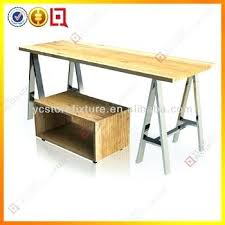 table top display shelves wooden collapsible folding wood shelf