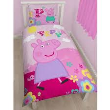 Buy Peppa Pig Adorable Single Cotton Duvet Cover and Pillowcase ... & Peppa Pig Adorable Single Cotton Duvet Cover and Pillowcase Set Adamdwight.com