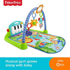 fisher bmh49 kick and play piano gym new born baby play mat