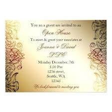 Meet And Greet Invitations Samples Business Meet And Greet Invitation Wording Gold Elegant Corporate
