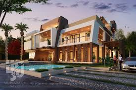 Modern Contemporary Exterior Design Awesome Contemporary Exterior Design Render 50 Stunning