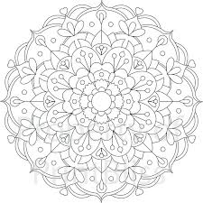 Printable Mandala Coloring Pages For Adults Pour Mandalas Kids And