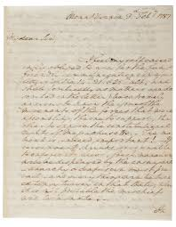 constitution unit the gilder lehrman institute of american history george washington to henry knox 3 1787 gilder lehrman collectio