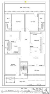 ground floor first floor home plan lovely house plan drawing 40x80 abad design project