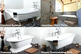 types of bathtubs bathtub alcove types of bathtubs and showers