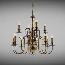 flemish style large chandelier