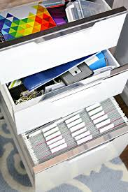 file cabinet organization. Wonderful Organization I Actually Really Love The Filing Cabinet Itself Purchased It Last  Year At CB2 After Bringing Home Two Different Goodwill Options To Makeover  With File Cabinet Organization N