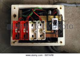 old style fuse box stock photo royalty image 54697361 alamy old style consumer unit electrical wire fuse box stock photo
