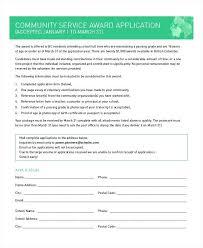 Community Service Certificate Template Eddubois Com