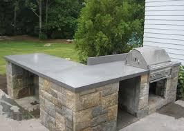 outdoor countertop perfect concrete countertop mix