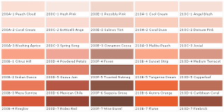 Glidden Paint Color Chart Behr Coral Cream Evoking Beach And Ocean Coral Is A Fresh