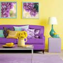 Сочетание цветов в интерьере домов
