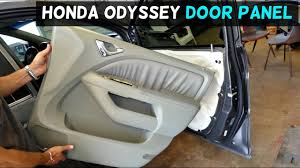 honda odyssey front door panel removal auto repair guys