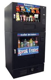 Drink And Snack Combo Vending Machine