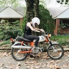 honda cl70 scrambler motorcycle honda motorcycle eryneddy enjoying her new cl70 honda dothehalfton cl70