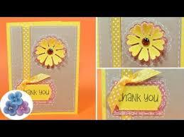 tarjeta de agradecimientos tarjetas de agradecimiento thank you card diy postales