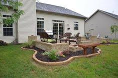 concrete slab patio makeover.  Makeover Learn From Our Experience As We Construct Very Own Outdoor Oasis  Backyard Paver Patio With Retaining Wall Fireplace And Columns And Concrete Slab Patio Makeover
