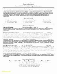 Tech Resume Examples College Resume Format Fresh Luxury Sample ...