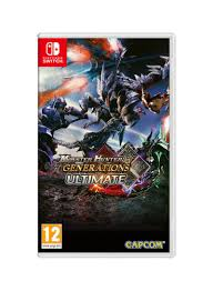 Monster Hunter Generations Light Crystal Shop Capcom Monster Hunter Generations Ultimate Nintendo Switch Online In Dubai Abu Dhabi And All Uae